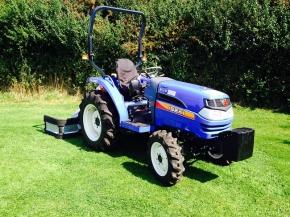 Iseki TG 5390 4wd tractor.